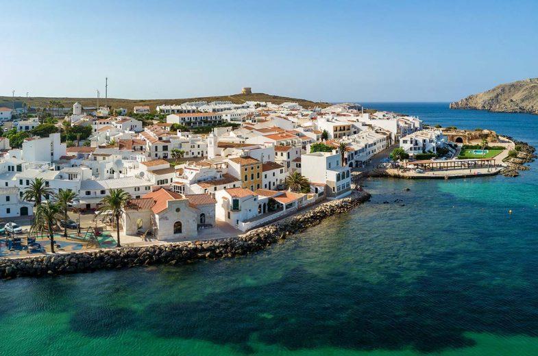 Fornells est un petit village où dormir à Minorque