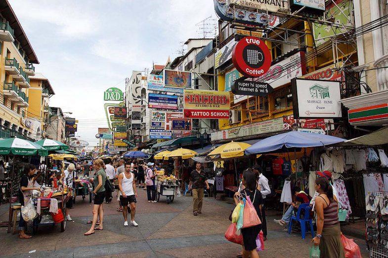 Où dormir à Bangkok: Khao San Road