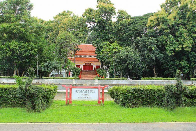 Une alternative aux zones plus touristiques est la zone de Chiang Mai