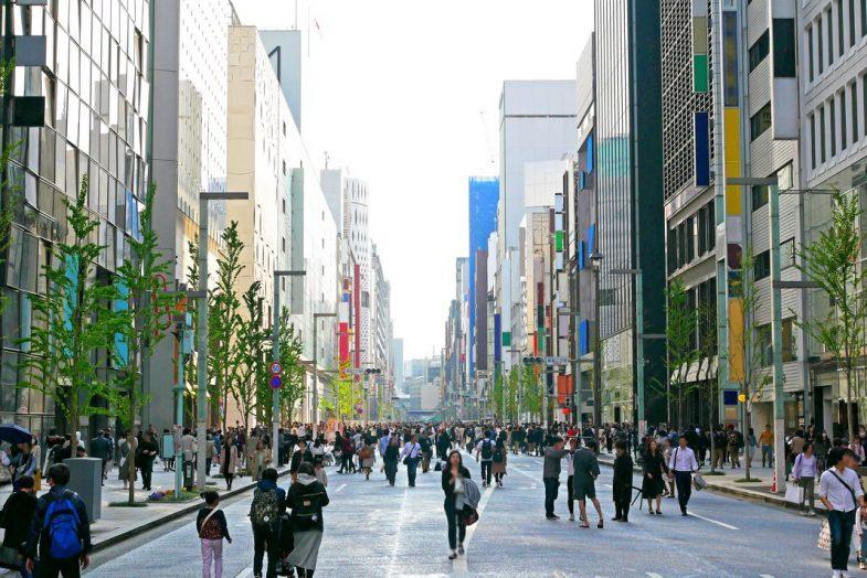 Les meilleurs quartiers où loger à Tokyo: Ginza