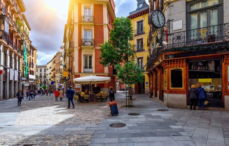 Hébergement à Madrid : La Latina