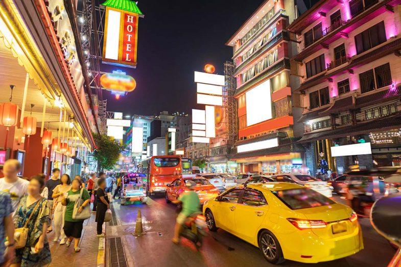Chinatown de Bangkok, où dormir.
