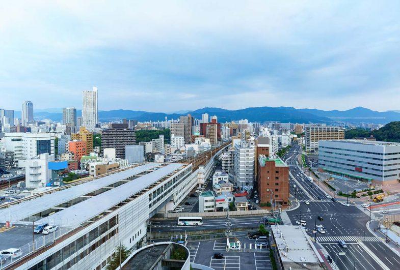 Le quartier de la Gare d'Hiroshima, pour qui souhaite dormir à Hiroshima