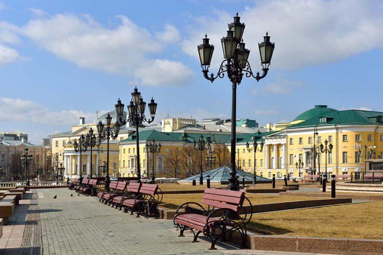 Tverskaya, la rue la plus célèbre de la capitale de Moscou