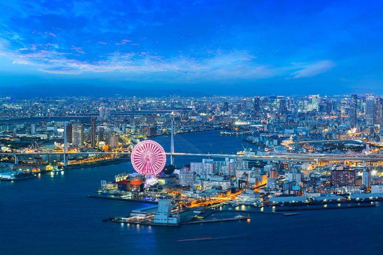 loger à Osaka: Merveilles Osaka Bay