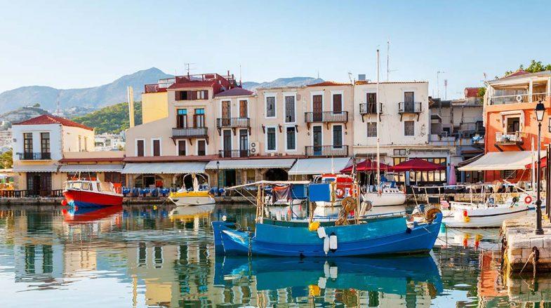 Dormir en Crète, à Rethymnon