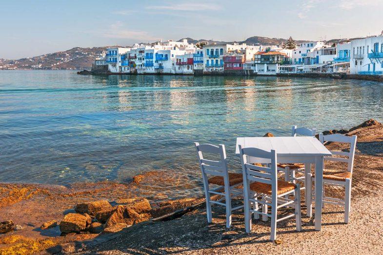 Où dormir à Mykonos : meilleures villes pour se loger à Mykonos