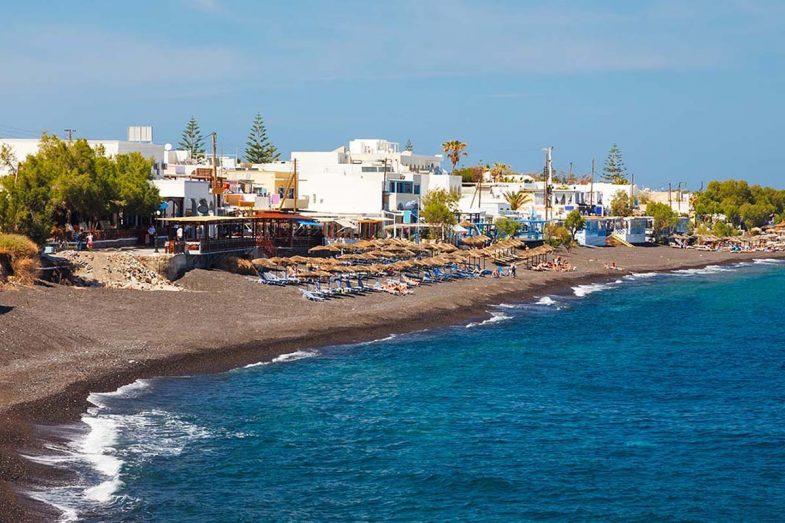 Dormir à Kamari: Santorini