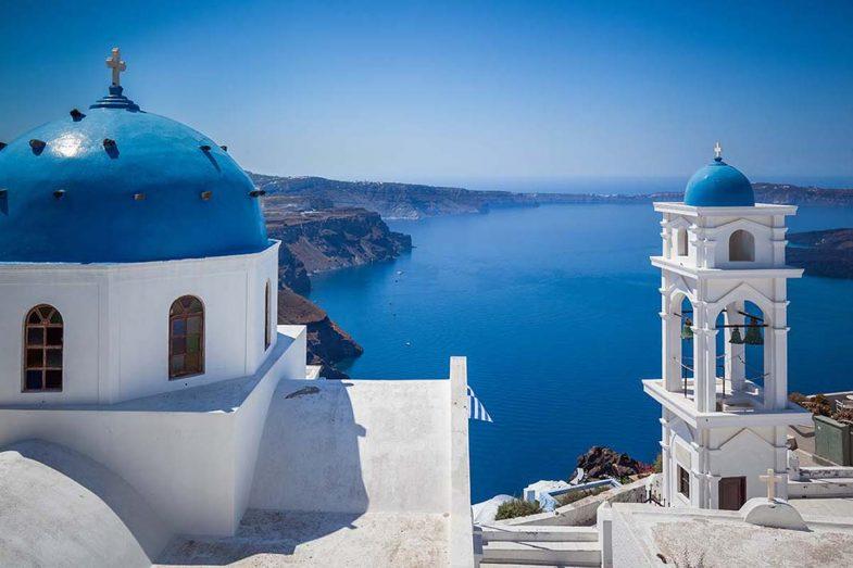Imerovigli: un des sites où loguer a Santorini