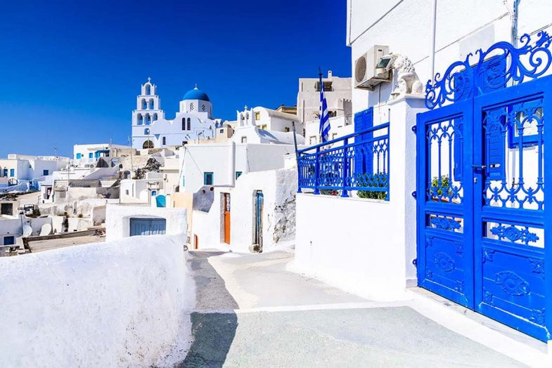 Où loger à Santorini: Pyergos