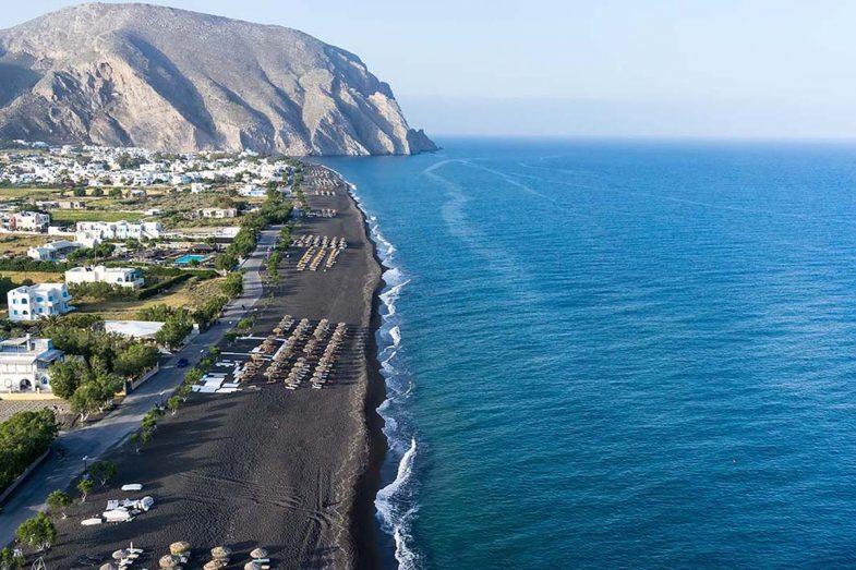 Où loger à Santorini: Perissa