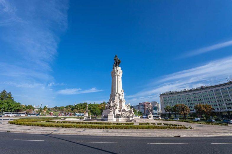 Où dormir à Lisbonne: Le quartier Place du Marquis de Pombal