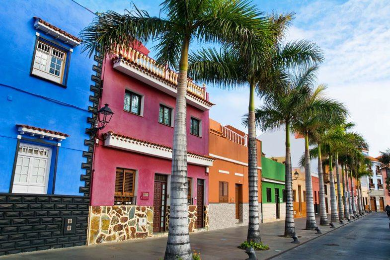 Puerto de la Cruz est la principale destination touristique où dormir à Tenerife