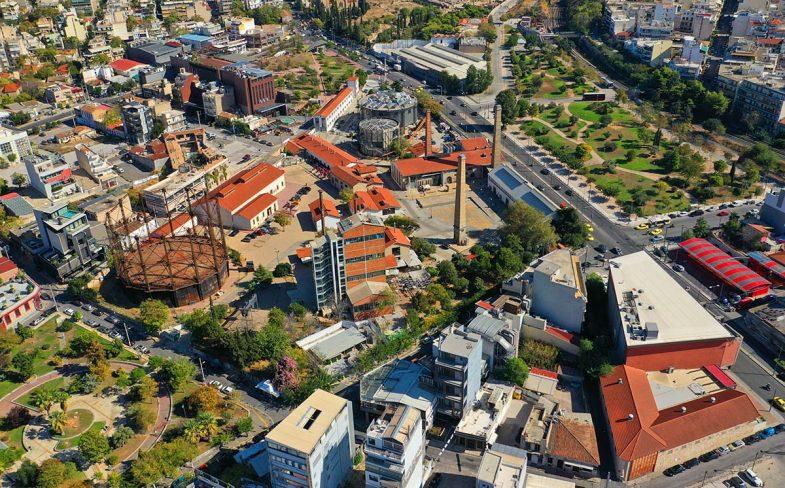Loger à Athènes: Gazi pourrait être qualifié de quartier urbain post-industriel