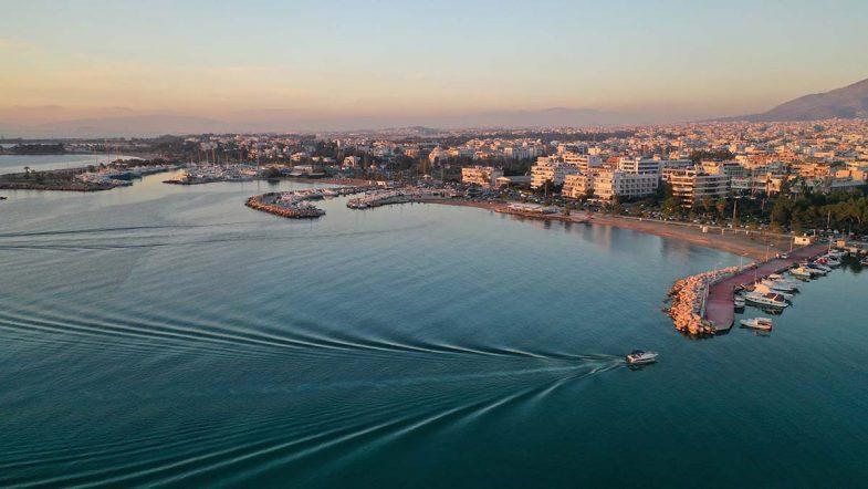 Dormir à Athenes: Glyfada est une banlieue huppée de la côte