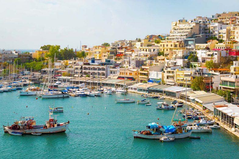 Dormir à Athènes, dans la région du Pirée