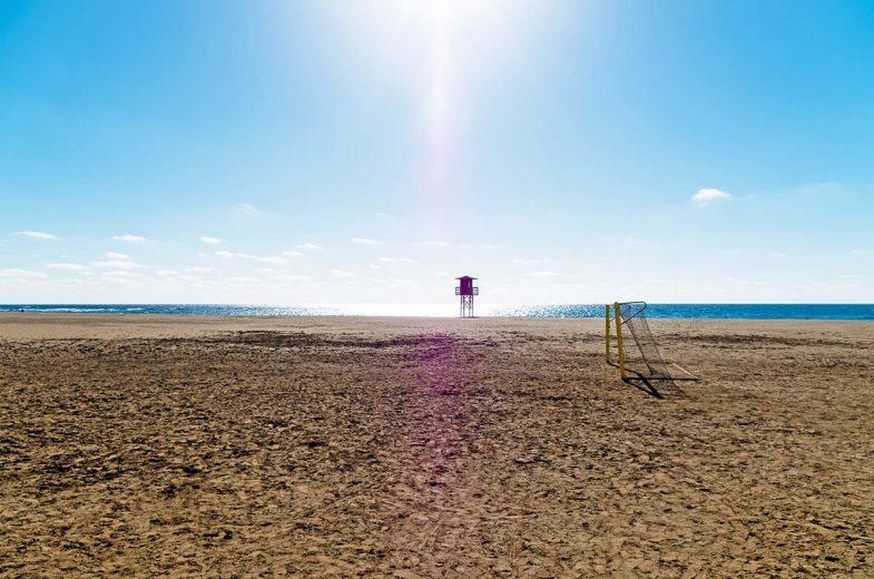 Playa Honda est idéale oú loger à Lanzarote