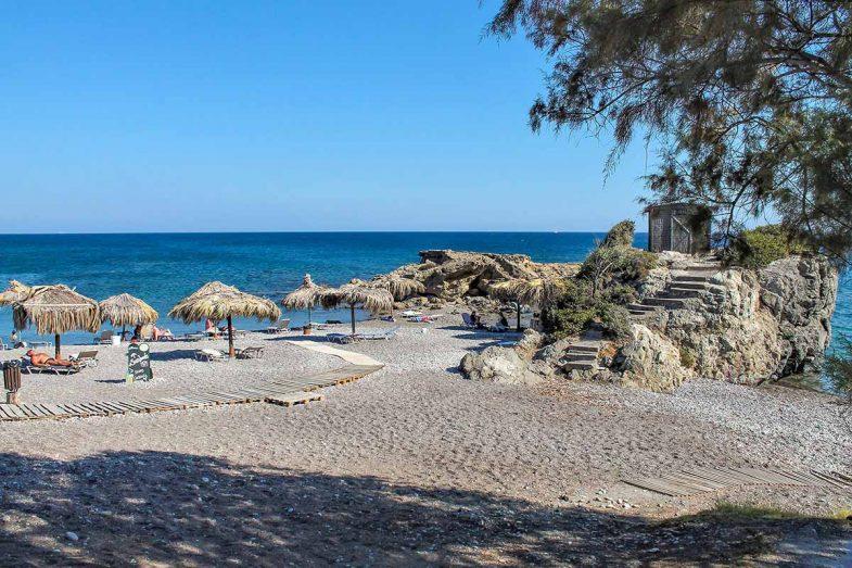 Loger à Rhodes:Kiotari, ville balnéaire avec d'excellents hôtels