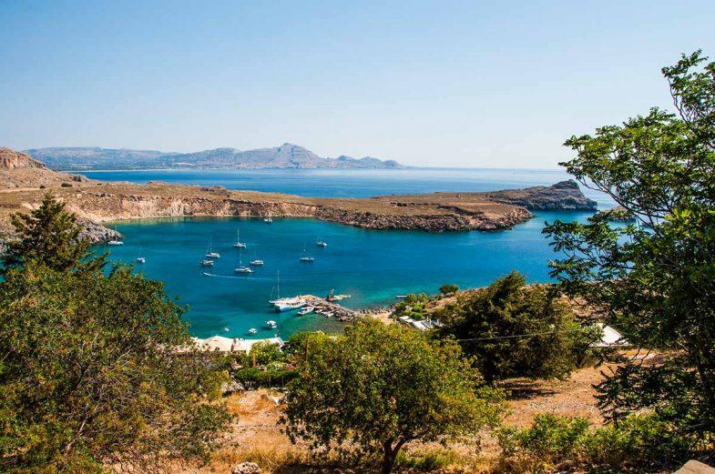 Dormir à Rhodes:Lardos, ville balnéaire petite et calme