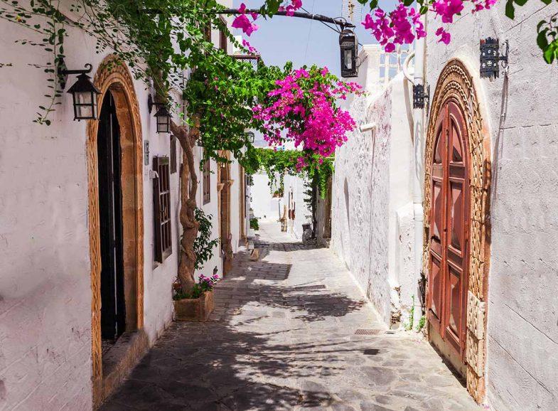 Lindos, la meilleure ville où dormir à Rhodes