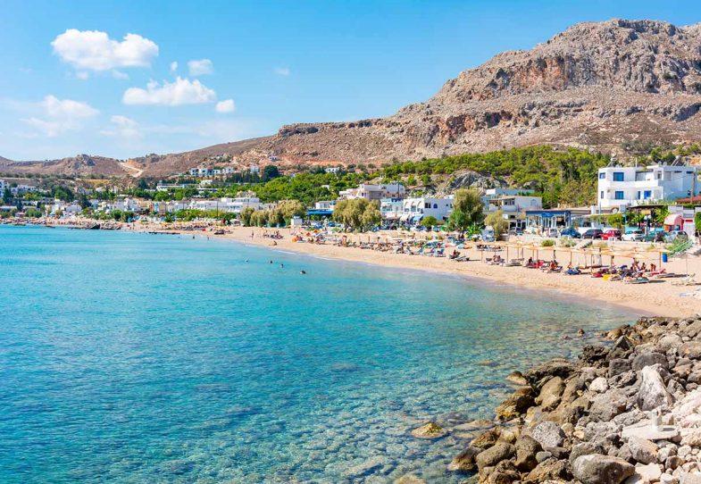 Stegna, pour se loger à Rhodes en bord de mer
