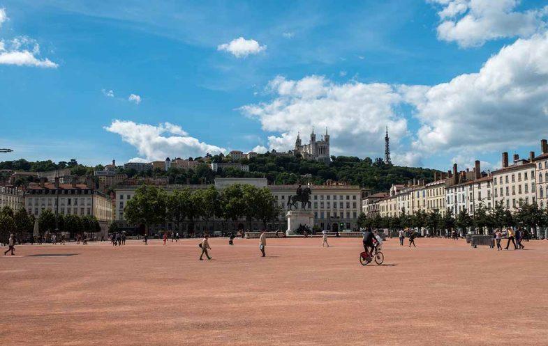 La Presqu'île, quartier très central idéal pour loger à Lyon