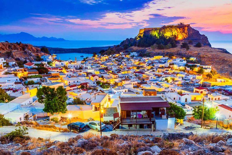 Rhodes Town, un endroit idéal pour dormir à Rodas