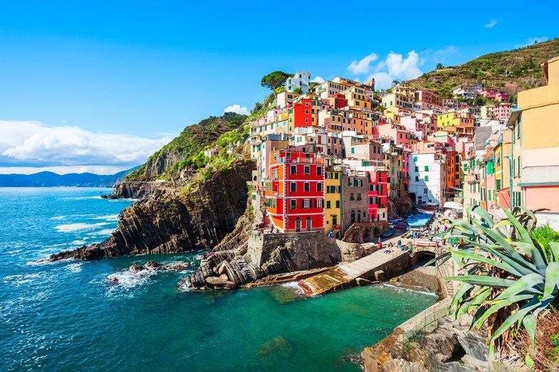 Riomaggiore, loger à Cinque Terre accessibles pour toute la famille