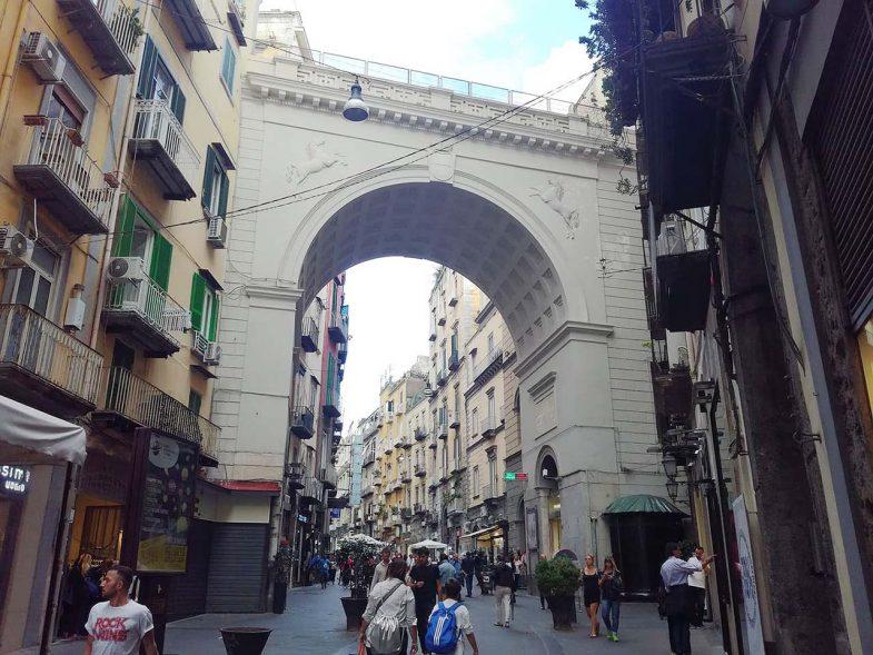 Chiaia, quartier de Naples chic avec vie nocturne