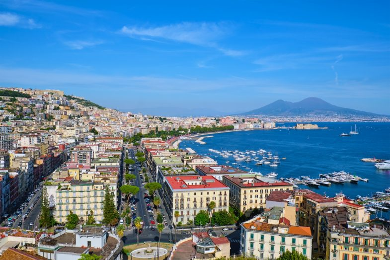 Vomero, quartier calme avec des vues superbes sur Naples