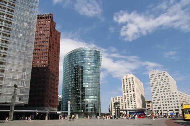 Potsdamer Platz, quartier d'affaires au centre ville