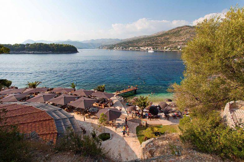 Babin Kuk, où dormir à Dubrovnik pour profiter des plages