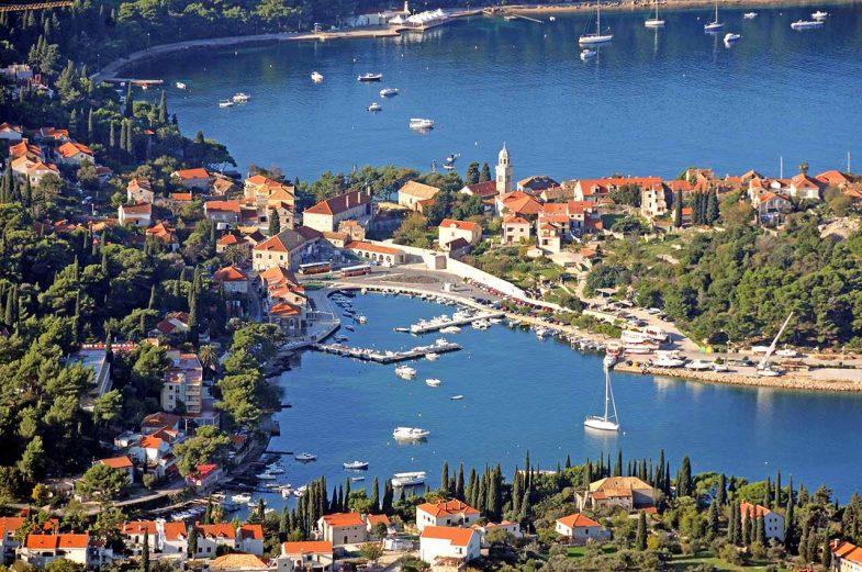 Cavtat, ville charmante, histoire et plages